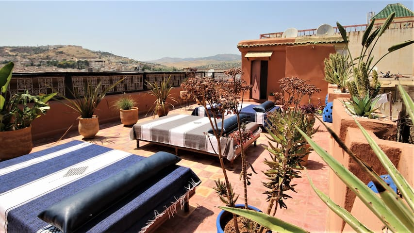 RR04-RIAD RAZANE Fes, Suite with terrace, 3 Pers.