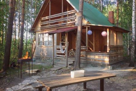Дачный уютный домик на берегу озера - Novoalekseevskoye