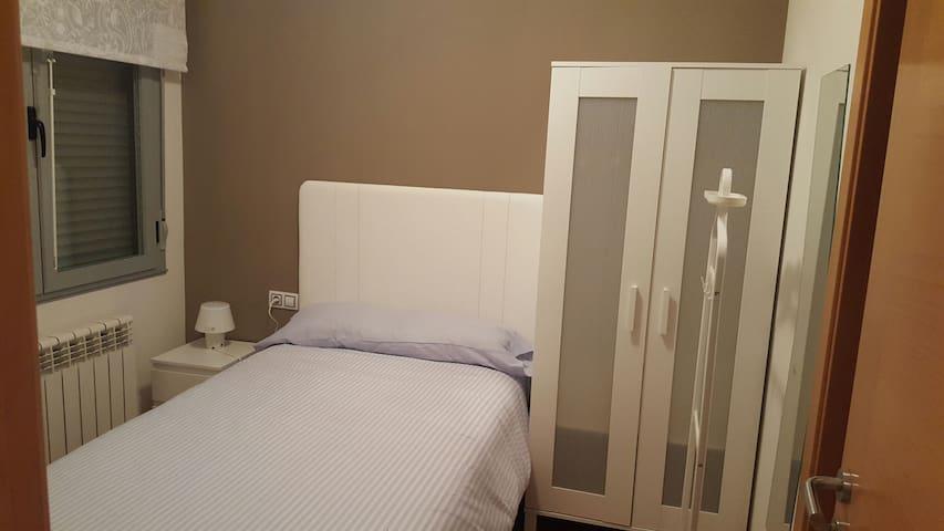 Habitación individual privada apartamento amplio - Zamora - Apartament