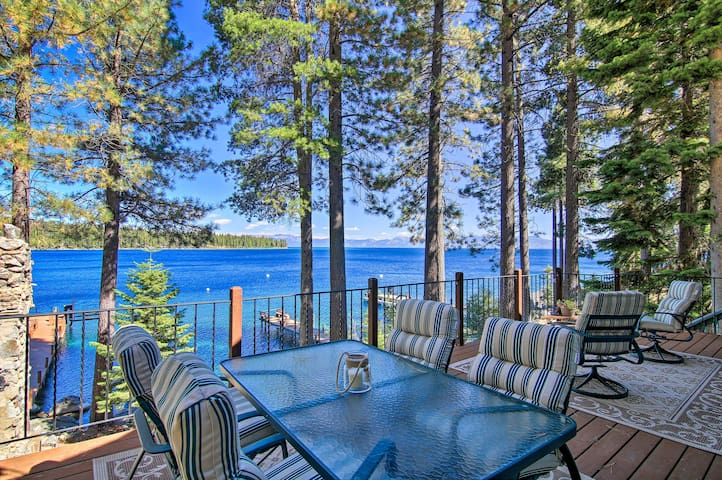 Tahoma House w/ Hot Tub on Lake Tahoe!