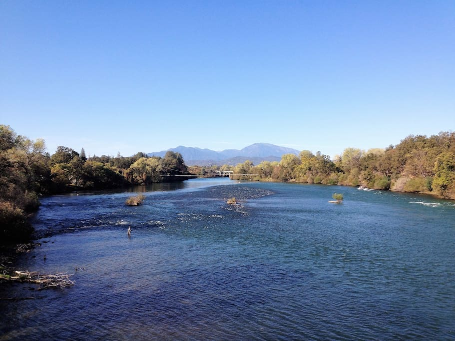 Another photo of the Sacramento River Trial