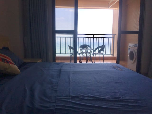Main bedroom to balcony