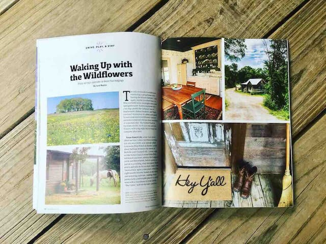 We are thrilled to be featured in Texas Highways Magazine 2019 Special Edition, Wildflowers of Texas