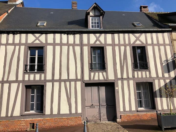 Superbe maison avec jardin centre Lyons-la-Forêt