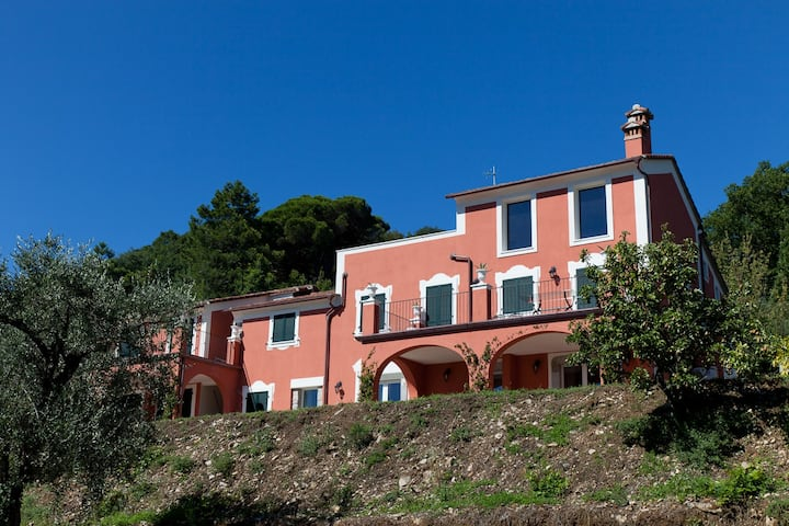Caletta apartment, in the Cinque Terre Park
