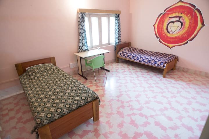 """Muladhara"" twin bed  room"