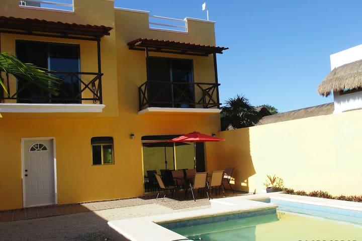 Casa Mia Private Pool Close to the beach, Mahahual