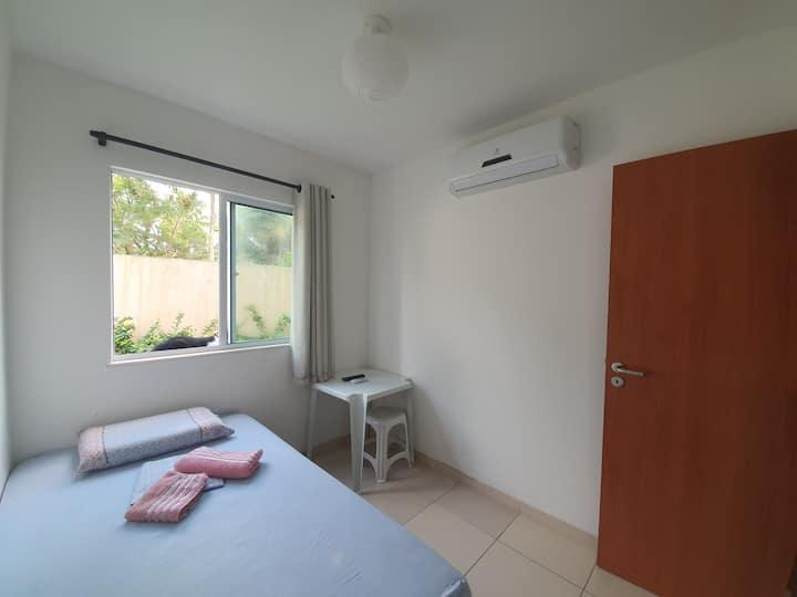 SemFronteiras: quarto para até duas pessoas