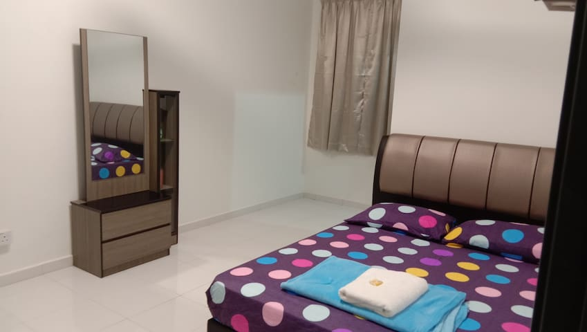 Bedroom No 2 with Fan