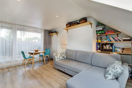 Penthouse Studio with Balcony