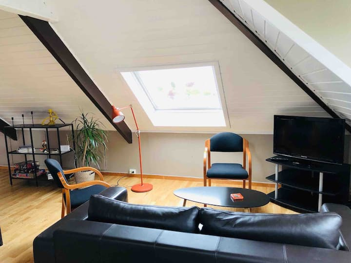 ♡ Studio with skylights and view ♡ - free parking
