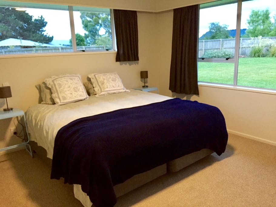Bedroom One and Three have huge super-king beds which can be split into two singles if preferred