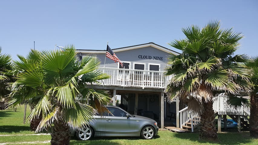 Cloud Nine beach cottage 1 hour drive from Houston - Freeport - Huis