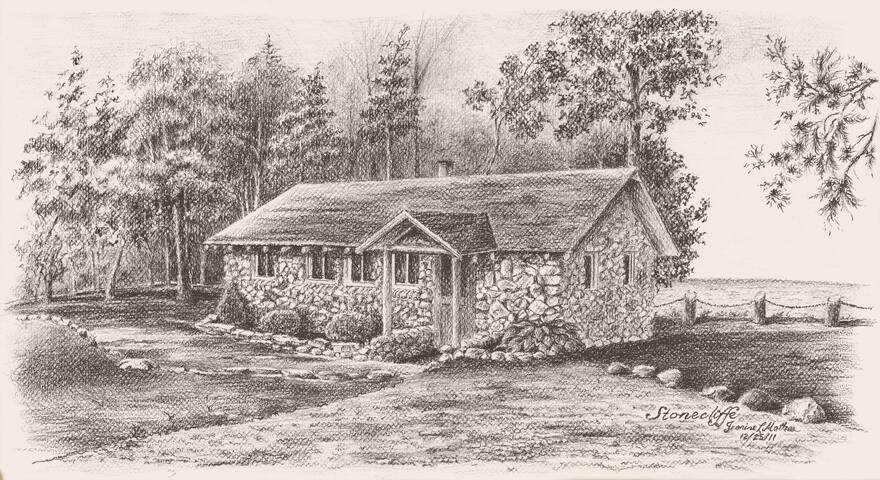 Stonecliffe Cottage on Lake Huron