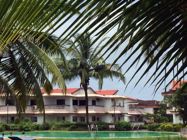 E6 lotus by the beach Goa - Benaulim - Apartment
