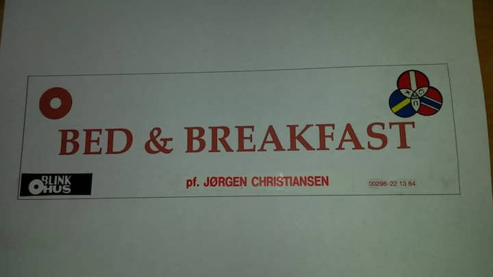 Bed and breakfast in the heart of Thorshavn room 4