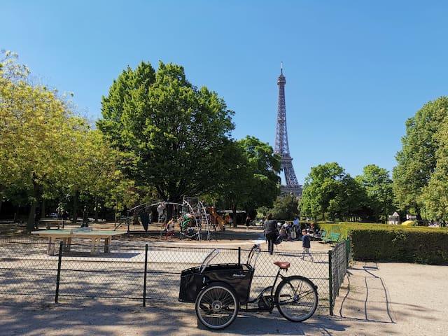Dream of Paris,la Tour Eiffel, 2 bedrooms