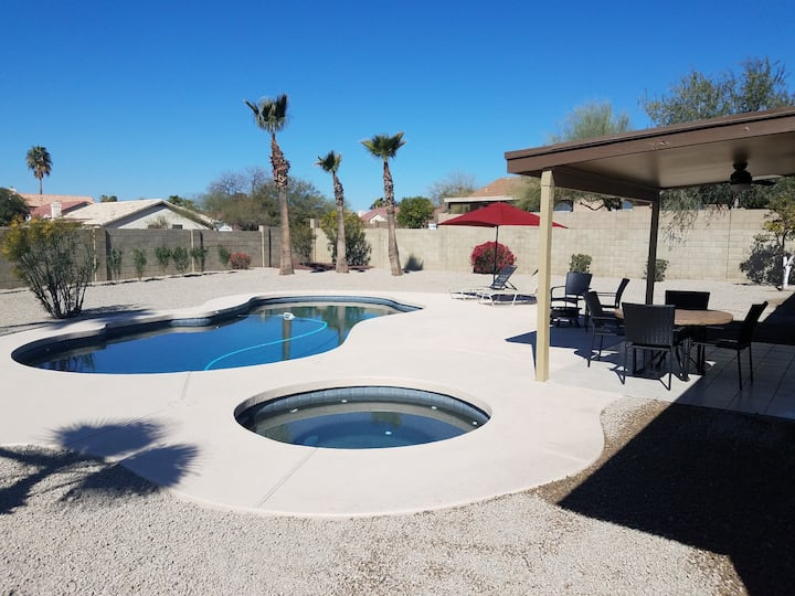 N. Scottsdale  Home with Pool & Spa 3 BDR/2 BTH
