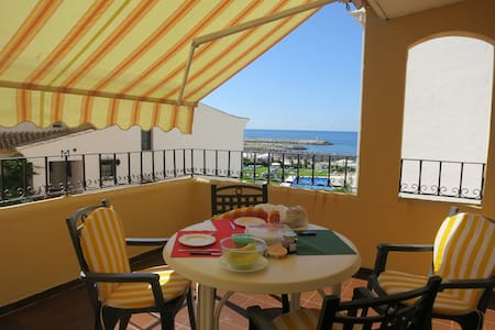 Perfect front sea situation : Sol y Mar Maravilla - Marbella - Leilighet