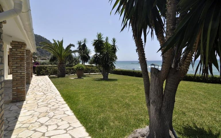 5 Bedroom Sea view Villa, Glyfada Beach, Corfu - Corfu - House