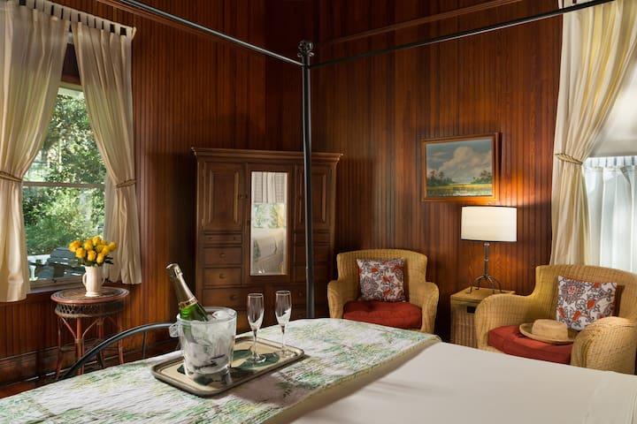 McLennan Luxury King Bedroom at Magnolia Springs B&B