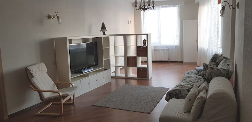 Apartment & parking in the center of Moscow 101 m