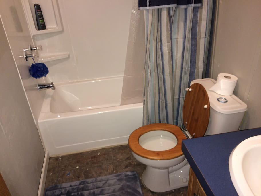Hall bath for your use