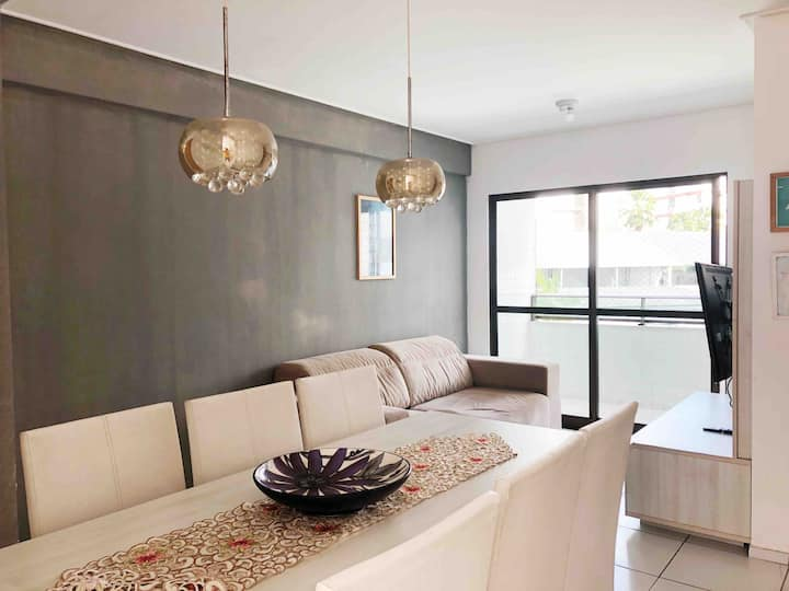 Casa Amarela-Apartamento super agradável e moderno