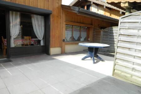 Charmant chalet 05/07 personnes, 60 m2 + terrasse - 摩瑞龙 (Morillon) - 独立屋