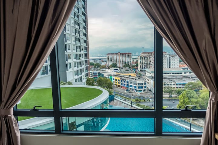 Convenient 2R3B Suites in B'worth @ nice view