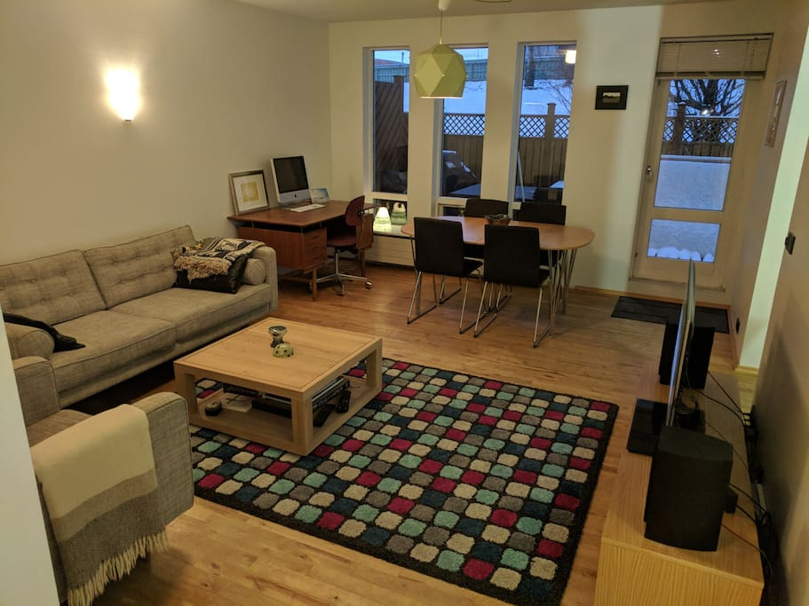 Large Two Bedroom Apartment With A Wood Terrace Apartments For Rent In K Pavogur Iceland