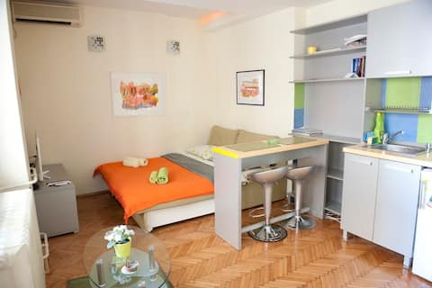 Knez Mihailova apartment