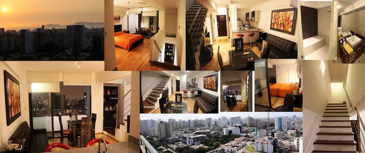 Apartamento Duplex Exclusivo Céntrico Panorámico