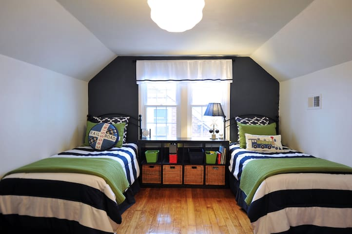 Bedroom # 2 - Two Twin Beds