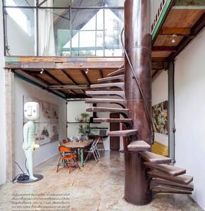 Hern's Studio - Artistic living house
