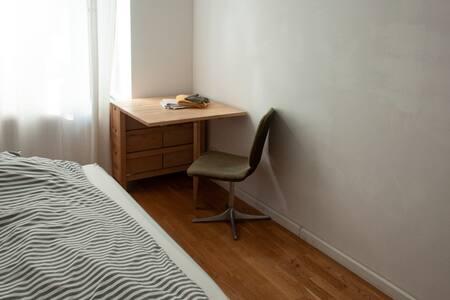A private cozy room.