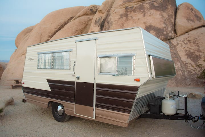 The Aristocrat: a vintage disco camping experience