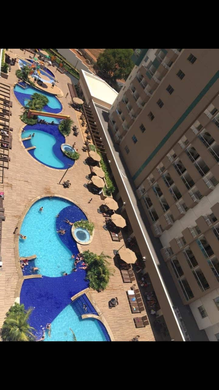 Olimpia Park  Resort - Aluguel de apartamento