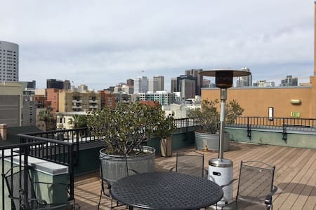 Downtown Room, w/ Great Rooftop - San Diego - Wohnung