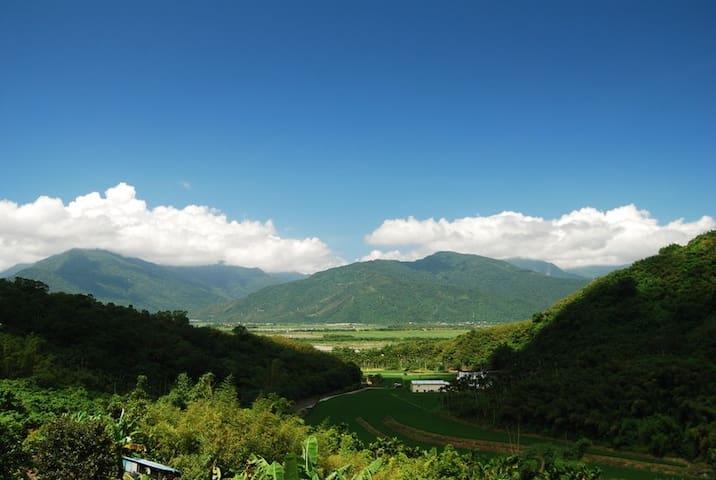 山風對話‧富里農家生活體驗‧花蓮大自然探索 - Fuli Township - Bungalow