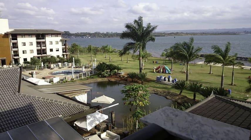 Incrível vista para o Lago - Brasília - Apartment
