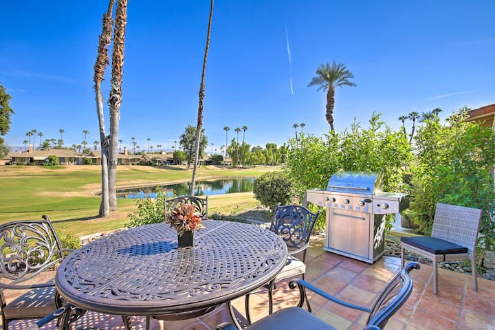 NEW! Country Club Condo on Golf Course w/ Pool!