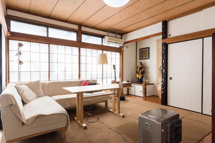 Zen house near Bujinkan Honbu Dojo - Noda-shi - House