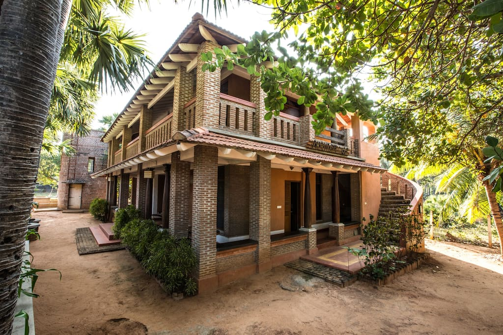 Arulville an ode to indigenous architecture earth House architecture chennai