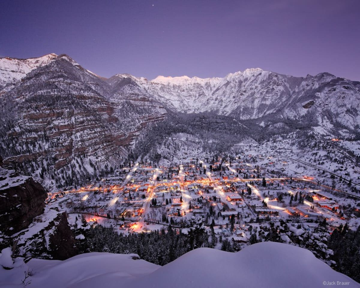 Ouray is a Winter Wonderland