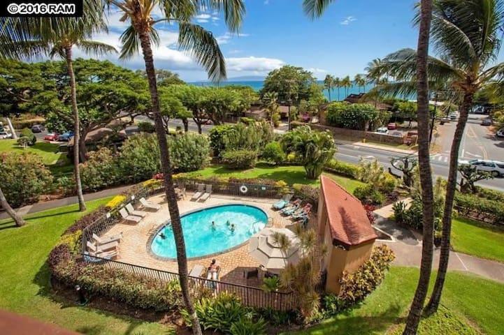 Maui Vista #2110  Sanitized Space!! Walk to beach!