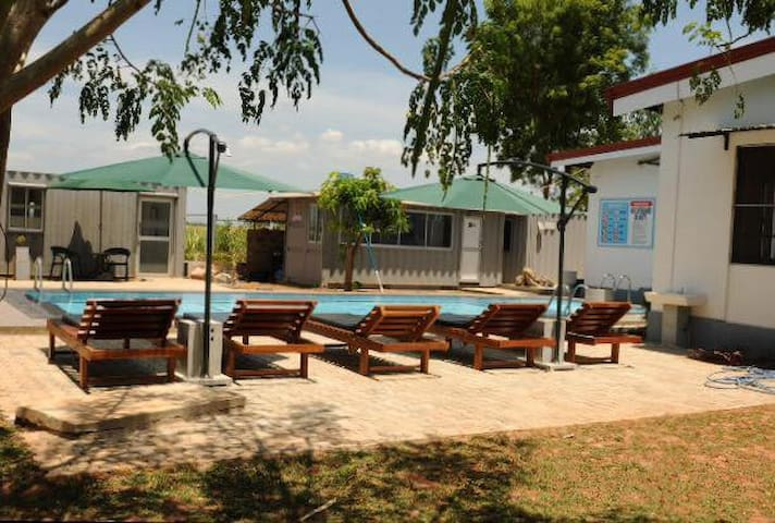 Le Green Udawalawe Resort - Udawalawa. - Bed & Breakfast