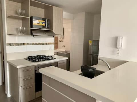 Apartamento moderno e confortável em excelente área