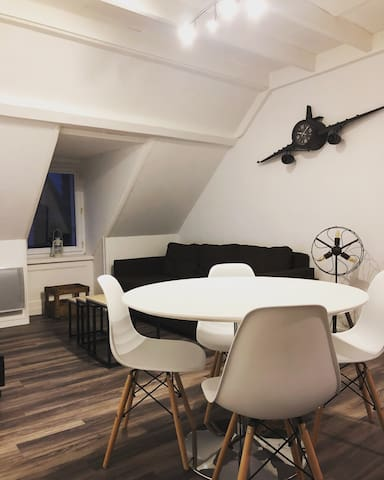 Wing Flat Appartement Calme Cherbourg 500m Dcns