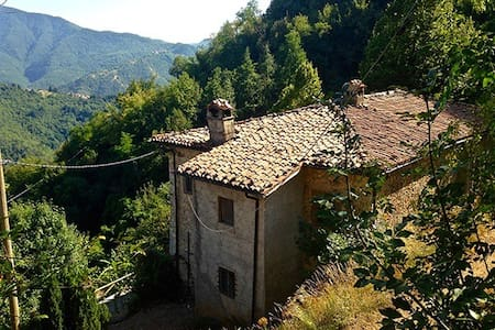 'Truly Tuscan' Villa with the Apuan Alps view - Castelnuovo di Garfagnana - Bed & Breakfast